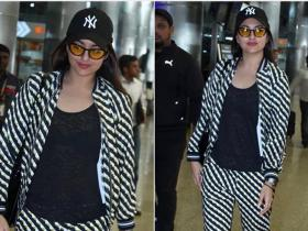 Celebrity Style,fashion,sonakshi sinha,airport