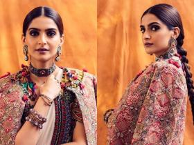 Celebrity Style,sonam kapoor,fashion,saree
