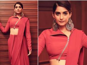 Celebrity Style,sonam kapoor,saree,the zoya factor