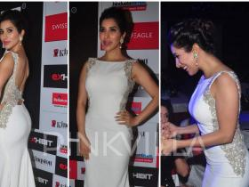 Celebrity Style,Sophie Choudry,Sonaakshi Raaj,Exhibit Awards 2015