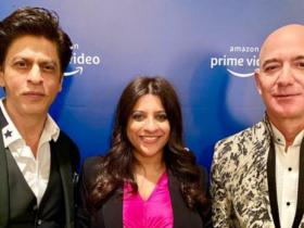 shah rukh khan,Jeff Bezos,Hollywood
