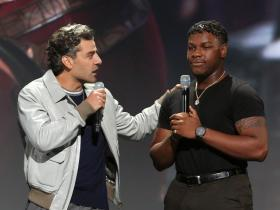 John Boyega,Hollywood,Star Wars: The Rise of Skywalker,JJ Abrams,Oscar Isaac