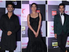 Photos,Sushant Singh Rajput,Ankita Lokhande,Rajkummar Rao,Star Screen Awards 2018
