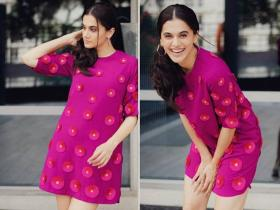 Celebrity Style,Taapsee Pannu,saand ki aankh,date night outfit