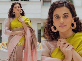 Celebrity Style,fashion,Taapsee Pannu,mission mangal