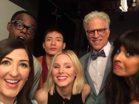 Hollywood,Kristen Bell,Jameela Jamil,The Good Place