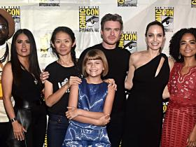 angelina jolie,Salma Hayek,kit harington,Richard Madden,Hollywood,The Eternals