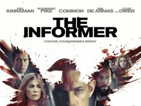 Reviews,Joel Kinnaman,Rosamund Pike,The Informer