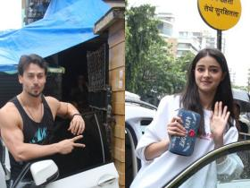 Photos,Tiger Shroff,Ananya Panday