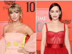 Celebrity Style,best dressed,taylor Swift,Emilia Clarke,time 100