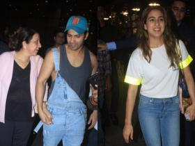 Photos,Varun Dhawan,Sara Ali Khan,Coolie No. 1