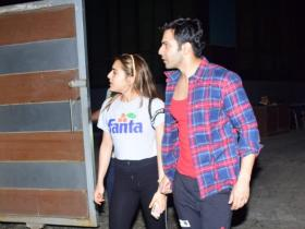 Photos,Varun Dhawan,Sara Ali Khan