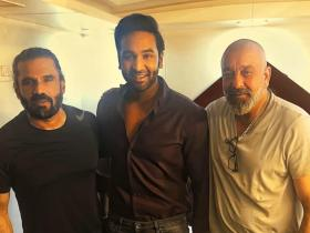 Sanjay Dutt,suniel shetty,South,Vishnu Manchu