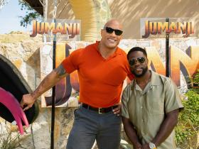 Dwayne Johnson,The Rock,Kevin Hart,Nick Jonas,Jack Black,Karen Gillan,Hollywood,Jumanji: The Next Level