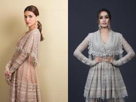 Celebrity Style,shraddha kapoor,Kriti Sanon,Fashion Faceoff
