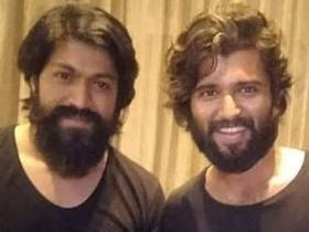 Yash,KGF,Vijay Deverakonda,South