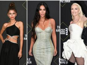 kim kardashian,Best Dressed,Zendaya,people's choice awards 2019
