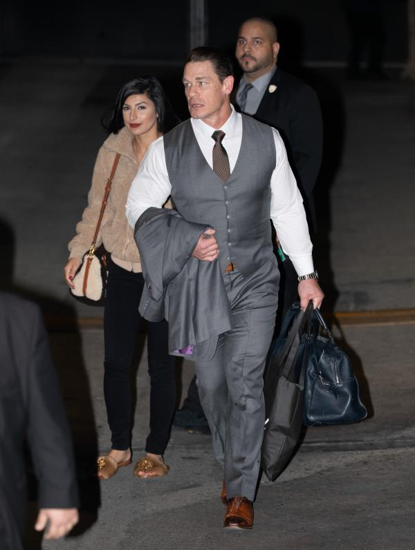 Photos John Cena Is Joined By Girlfriend Shay -8437