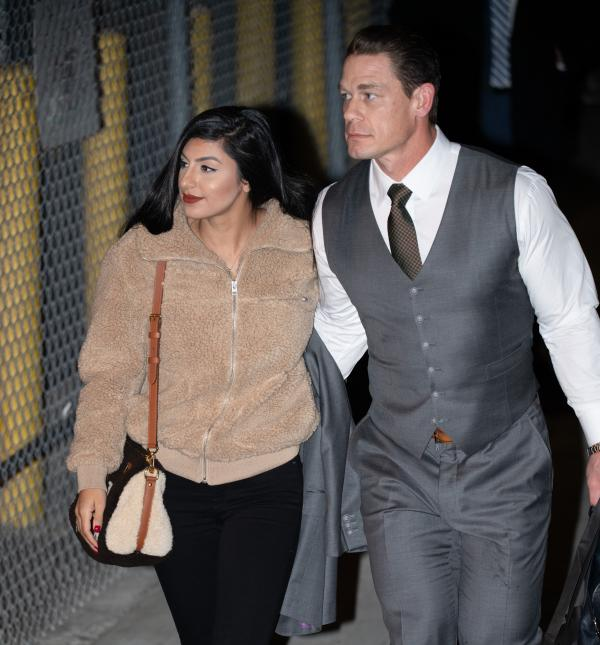 Photos John Cena Is Joined By Girlfriend Shay -4355