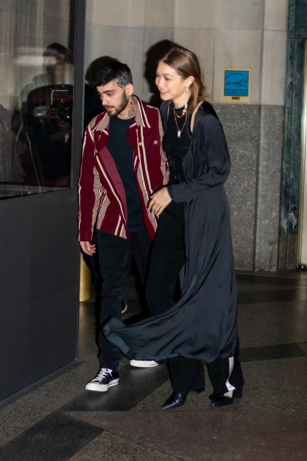 PHOTOS: Zayn Malik and Gigi Hadid can't keep their hands ...