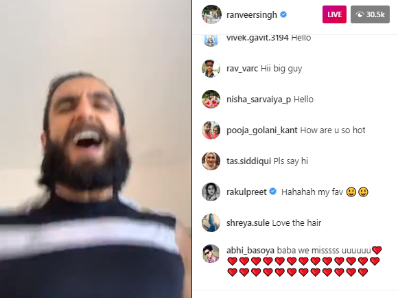 Ranveer Singh makes it a 'good morning' as he goes live while running on the treadmill & sends positive vibes 1