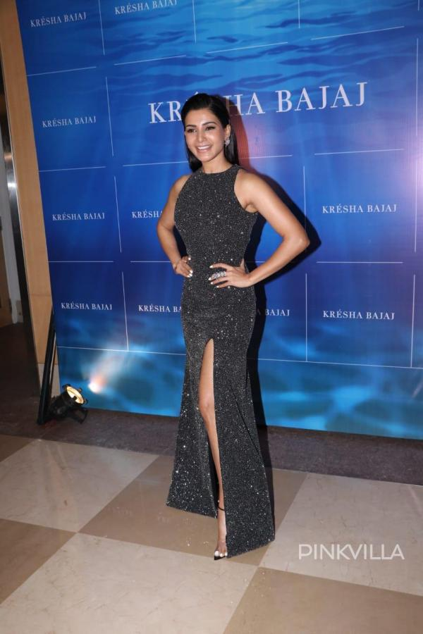 Samantha Akkineni S Sequin Bodycon Dress Is Perfect For