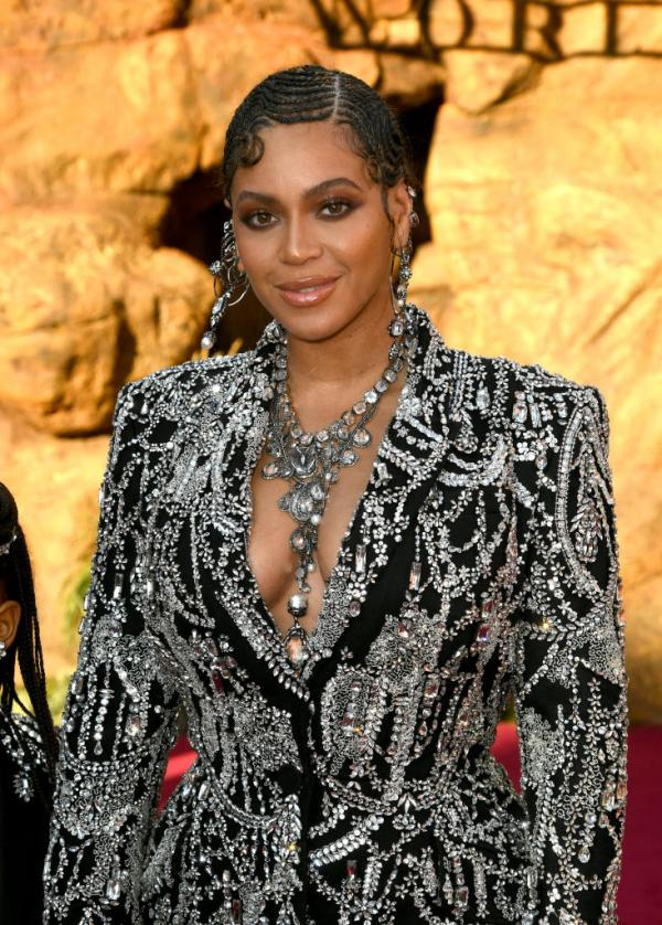 The Lion King World Premiere Beyonce And Blue Ivy Carter