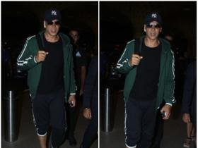 Akshay Kumar spotted by the shutterbugs at the airport