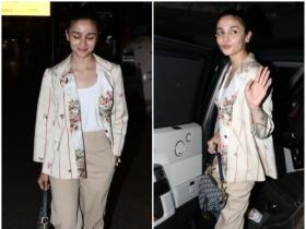 Alia Bhatt looks happy to be back in the city