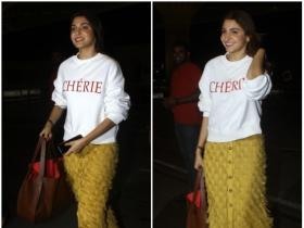 Anushka Sharma gets snapped by the paps at the airport