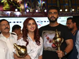 Arjun Kapoor and Parineeti Chopra promote Namaste England in Delhi