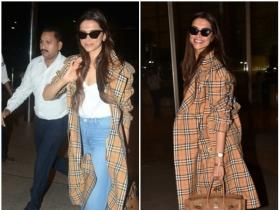 Deepika Padukone is all smiles at the airport