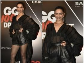 Deepika Padukone looked hot as hell in an all-black outfit