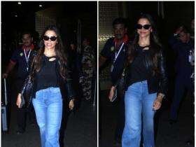 Deepika Padukone snapped at the airport