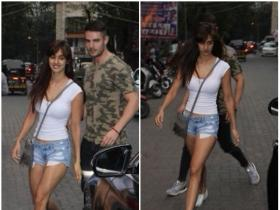 Disha Patani clicked by the paps in the city