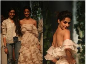Disha Patani walked the ramp at LFW 2018