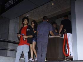 Janhvi Kapoor and Ishaan Khatter gets snapped by the paps post movie at PVR