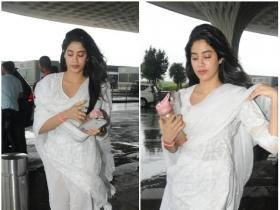 Janhvi Kapoor heads to Chandigarh for Dhadak promotions