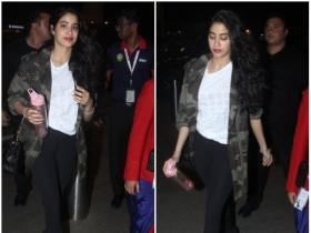 Janhvi Kapoor's airport look will certainly give you style goals