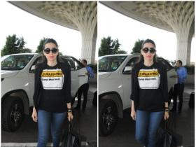 Karisma Kapoor snapped at the airport