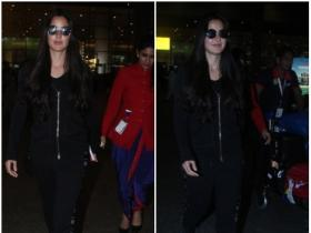 Katrina Kaif returns back to the city after celebrating her birthday with family in London