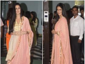 Katrina Kaif snapped at Arpita Khan Sharma's Eid bash