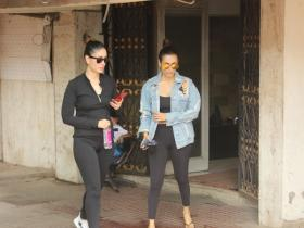 Malaika Arora Khan and BFF Kareena Kapoor Khan papped post workout session