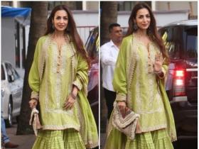 Malaika Arora Khan attends Shilpa Shetty's Ganesh Chaturthi celebrations