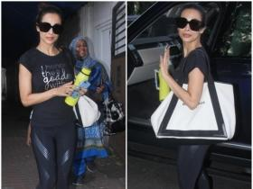Malaika Arora Khan papped in the city