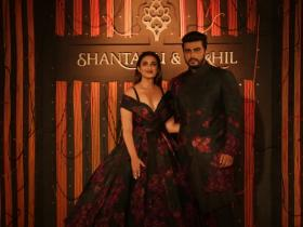Parineeti Chopra and Arjun Kapoor walk the ramp for a fashion show