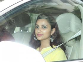 Parineeti Chopra arrives at Priyanka Chopra's house to attend the Roka ceremony