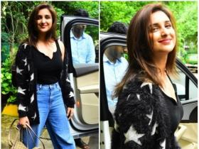 Parineeti Chopra gets papped post salon session