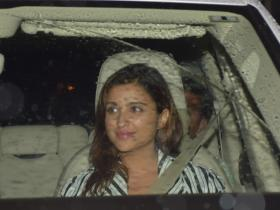 Parineeti Chopra spotted at Priyanka Chopra's house