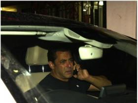 Salman Khan snapped post dance rehearsals of Da-bangg tour